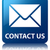 contact us glossy blue reflected square button stock photo © faysalfarhan