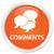 comments orange button stock photo © faysalfarhan