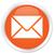 pomarańczowy · przycisk · Internetu · internetowych · mail - zdjęcia stock © faysalfarhan