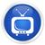 tv · bleu · bouton · technologie · écran · rétro - photo stock © faysalfarhan