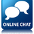 online · chat · praten · bubble · icon · glanzend - stockfoto © faysalfarhan