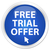 Free trial offer icon blue button stock photo © faysalfarhan