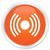 network signal orange button stock photo © faysalfarhan