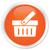 ikona · pomarańczowy · przycisk · Internetu · dyskusja · biały - zdjęcia stock © faysalfarhan