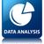 data analysis graph icon glossy blue reflected square button stock photo © faysalfarhan