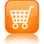 Ecommerce icon glossy orange reflected square button stock photo © faysalfarhan