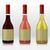 vetor · conjunto · dois · vinho · garrafas · vintage - foto stock © feabornset