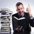 business man understands his book stock photo © feedough