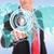 homme · d'affaires · poussant · boutons · jeunes · homme · d'affaires - photo stock © feedough