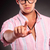 man touching a button stock photo © feedough