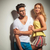 young smart beautiful couple is posing in casual clothing stock photo © feedough