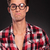 ignorant casual man wearing glasses stock photo © feedough