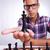 jóvenes · ajedrez · jugador · torneo · nino - foto stock © feedough