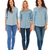 equipo · de · negocios · tres · personas · caminando · equipo · tres · gente · de · negocios - foto stock © feedough