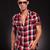 moda · adam · güneş · gözlüğü · yürüyüş · ileri - stok fotoğraf © feedough