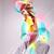 若い女性 · 夢のような · ゴージャス · 立って · 屋外 · 白 - ストックフォト © feedough