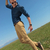 outdoor casual man looks down stock photo © feedough
