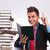 чтение · человека · Идея · столе · молодые · деловой · человек - Сток-фото © feedough
