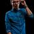 nino · casual · denim · camisa · posando · oscuro - foto stock © feedough