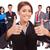 equipo · de · negocios · gesto · oficina · negocios - foto stock © feedough