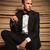 ブロンド · 小さな · エレガントな · 男 · 座って · 椅子 - ストックフォト © feedough