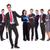 лидера · успешный · бизнес-команды · счастливым · молодые - Сток-фото © feedough