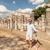 ruines · shot · mooie · turkoois · caribbean · zee - stockfoto © feedough