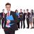 лидера · буфер · обмена · бизнес-команды · за · изолированный - Сток-фото © feedough