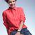 笑みを浮かべて · 若い女性 · 座って · スツール · 魅力的な - ストックフォト © feedough