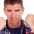 csalódott · fiatalember · kivágás · kép · fiatal · lezser - stock fotó © feedough
