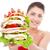hamburger · geïsoleerd · witte - stockfoto © feedough