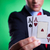 business man holding a pair of aces stock photo © feedough