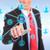 бизнесмен · современных · социальной · Кнопки · виртуальный - Сток-фото © feedough