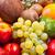 şeftali · sepet · meyve · gıda · elma - stok fotoğraf © feedough