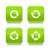 Green arrow refresh, reload, rotation, repeat icon stock photo © feelisgood