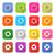 laranja · botão · próximo · seta · símbolo · círculo - foto stock © feelisgood