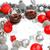 due · occhiali · vino · rosso · Natale · ornamenti · messa · a · fuoco · selettiva - foto d'archivio © feelphotoart