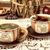 teáscsészék · fából · készült · tejgazdaság · öreg · retro · konyha - stock fotó © feelphotoart