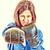 rękawice · bokserskie · business · woman · zły · działalności · agresywny - zdjęcia stock © feelphotoart