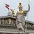parlamento · Viena · Austria · estatua · hombre · caballo - foto stock © fer737ng