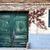 битое · стекло · парадная · дверь · за · пределами · дома · здании · аннотация - Сток-фото © fesus