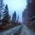 najaar · landschap · mist · bergen · hooiberg · berg - stockfoto © fesus