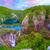 cachoeiras · água · natureza · paisagem · verde · viajar - foto stock © fesus
