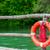 oranje · redding · boot · strand · water · veiligheid - stockfoto © fesus