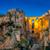 町 · アンダルシア · 中世 · 住宅 · 高い · 岩 - ストックフォト © fesus