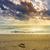 altın · gün · batımı · plaj · İspanya · su · güzellik - stok fotoğraf © fesus