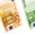 euro · geld · waslijn · geïsoleerd · witte · business - stockfoto © Fesus