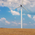 wind generators turbines on wheat field stock photo © fesus