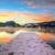 congelato · castello · inverno · panorama · colore · illustrazione - foto d'archivio © fesus