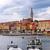 桟橋 · 市 · 半島 · クロアチア · 家 · 風景 - ストックフォト © fesus